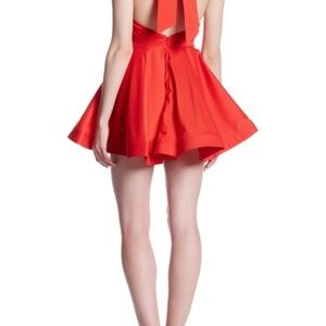 Ventines Day! REVERSE Red Halter Dress